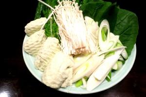 5しゃぶしゃぶの野菜