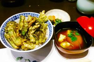 5山菜天丼